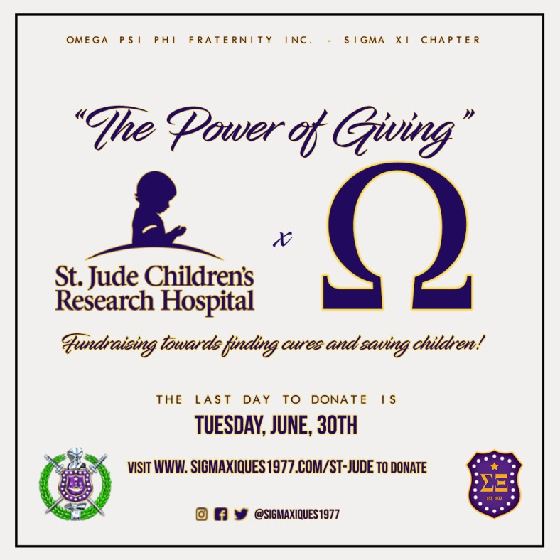 Omega St Jude Power of Giving