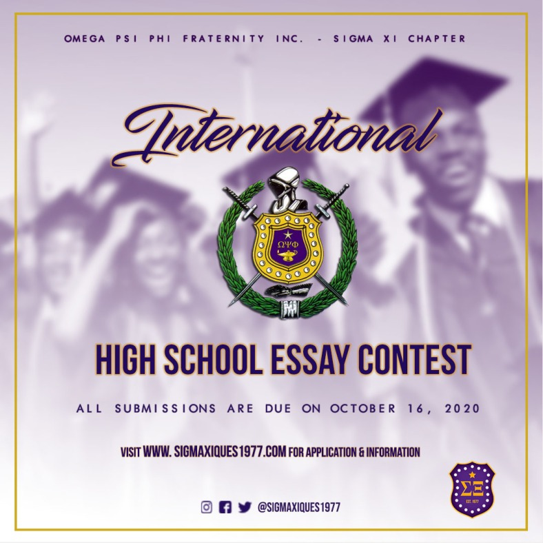 International HS Essay Contest 2020 1